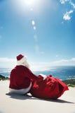 διακοπές santa Στοκ φωτογραφία με δικαίωμα ελεύθερης χρήσης
