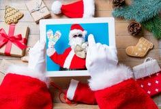διακοπές santa Claus Στοκ εικόνες με δικαίωμα ελεύθερης χρήσης