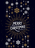 Διακοσμήσεις Καλών Χριστουγέννων Στοκ Φωτογραφίες