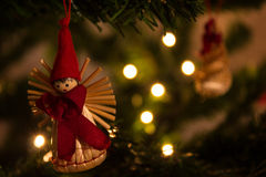 διακοσμήσεις Χριστουγέννων φυσικές Στοκ Φωτογραφίες