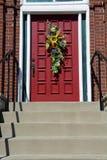 διακοσμημένη πόρτα στοκ εικόνες