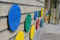 διακοσμημένος τοίχος Στοκ φωτογραφία με δικαίωμα ελεύθερης χρήσης