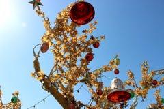 διακοσμημένο δέντρο Στοκ εικόνες με δικαίωμα ελεύθερης χρήσης