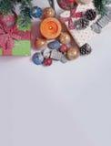 διακοσμημένο Χριστούγεννα δέντρο Στοκ φωτογραφίες με δικαίωμα ελεύθερης χρήσης