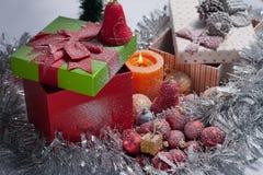 διακοσμημένο Χριστούγεννα δέντρο Στοκ φωτογραφία με δικαίωμα ελεύθερης χρήσης