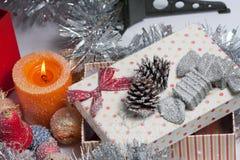 διακοσμημένο Χριστούγεννα δέντρο Στοκ εικόνες με δικαίωμα ελεύθερης χρήσης