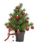 διακοσμημένο Χριστούγεν& Στοκ εικόνες με δικαίωμα ελεύθερης χρήσης