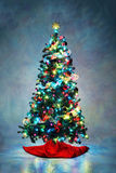 διακοσμημένο Χριστούγεν& Στοκ φωτογραφία με δικαίωμα ελεύθερης χρήσης