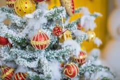 διακοσμημένο Χριστούγεν& Στοκ Φωτογραφία