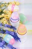 διακοσμητικά αυγά Πάσχας Στοκ εικόνες με δικαίωμα ελεύθερης χρήσης