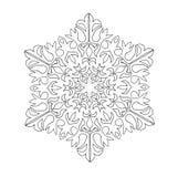 διακοσμητικά snowflakes Στοκ Φωτογραφίες