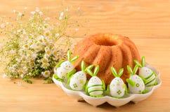 διακοσμητική παράδοση Πάσχας κέικ ψωμιού Στοκ φωτογραφίες με δικαίωμα ελεύθερης χρήσης