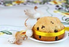 διακοσμητική παράδοση Πάσχας κέικ ψωμιού Στοκ εικόνες με δικαίωμα ελεύθερης χρήσης