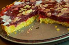 διακοσμητική παράδοση Πάσχας κέικ ψωμιού Στοκ Εικόνες