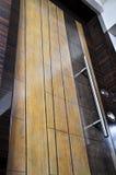 διακοσμητική πόρτα ξύλινη Στοκ φωτογραφίες με δικαίωμα ελεύθερης χρήσης
