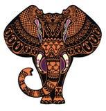 διακοσμητικός ελέφαντα&sig ελεύθερη απεικόνιση δικαιώματος