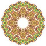 διακοσμητικός κύκλος διακοσμήσεων δαντελλών κύκλων Στοκ Εικόνες