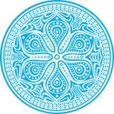 διακοσμητικός κύκλος δ&a απεικόνιση αποθεμάτων