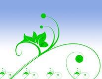 διακοσμητικός floral ανασκόπησης Στοκ φωτογραφίες με δικαίωμα ελεύθερης χρήσης