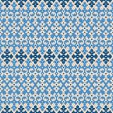 διακοσμητικό άνευ ραφής διάνυσμα προτύπων απεικόνισης Στοκ Φωτογραφίες