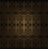 διακοσμητικό άνευ ραφής διάνυσμα προτύπων απεικόνισης Στοκ φωτογραφία με δικαίωμα ελεύθερης χρήσης