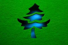 διακοσμητικό δέντρο Χρισ&ta Στοκ Φωτογραφία