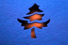 διακοσμητικό δέντρο Χρισ&ta Στοκ εικόνες με δικαίωμα ελεύθερης χρήσης