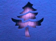 διακοσμητικό δέντρο Χρισ&ta Στοκ Εικόνες