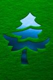 διακοσμητικό δέντρο Χρισ&ta Στοκ φωτογραφίες με δικαίωμα ελεύθερης χρήσης