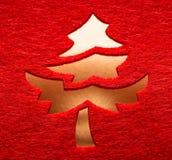 διακοσμητικό δέντρο Χρισ&ta Στοκ Εικόνα