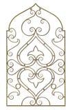διακοσμητικό δικτυωτό πλέγμα στοκ φωτογραφία