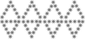 διακοσμητικό floral πρότυπο Στοκ Εικόνες