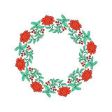 διακοσμητικό floral πλαίσιο Στοκ Φωτογραφίες