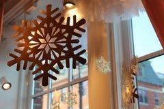 διακοσμητικό snowflake Στοκ φωτογραφία με δικαίωμα ελεύθερης χρήσης