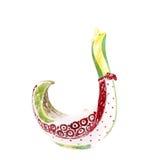 διακοσμητικό vase γυαλιού Στοκ Εικόνες