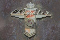 1948 διακριτικά Chrysler Νεοϋρκέζος Στοκ εικόνα με δικαίωμα ελεύθερης χρήσης