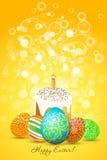 διακόσμηση αυγών Πάσχας διακοσμήσεων Στοκ Φωτογραφίες