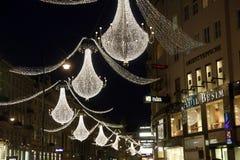 διακόσμηση Βιέννη Χριστουγέννων Στοκ Φωτογραφίες
