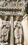διακόσμηση τοίχων της εκκλησίας του ST Trophime σε Arles Στοκ εικόνα με δικαίωμα ελεύθερης χρήσης
