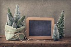 διακόσμηση Χριστουγέννων αναδρομική Στοκ Φωτογραφίες