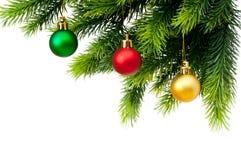 διακόσμηση Χριστουγέννων που απομονώνεται Στοκ εικόνα με δικαίωμα ελεύθερης χρήσης