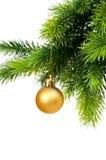διακόσμηση Χριστουγέννων που απομονώνεται Στοκ φωτογραφίες με δικαίωμα ελεύθερης χρήσης