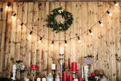 1 διακόσμηση Χριστουγέννω&n Στοκ εικόνες με δικαίωμα ελεύθερης χρήσης