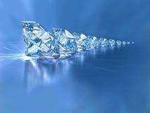 διαμάντια Στοκ Εικόνα