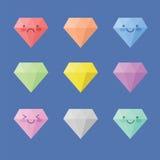 Διαμάντι εικονιδίων Στοκ φωτογραφίες με δικαίωμα ελεύθερης χρήσης