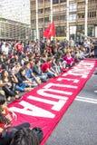 διαμαρτυρόμενοι Στοκ εικόνα με δικαίωμα ελεύθερης χρήσης