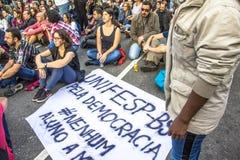 διαμαρτυρόμενοι Στοκ φωτογραφίες με δικαίωμα ελεύθερης χρήσης