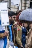 διαμαρτυρόμενος Στοκ Εικόνες