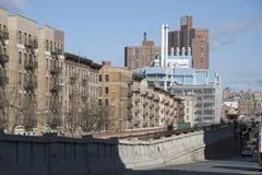 Διαμερίσματα και κέντρο Μανχάταν ΗΠΑ επιστήμης Greene Στοκ εικόνα με δικαίωμα ελεύθερης χρήσης