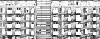 διαμερίσματα σύγχρονα Στοκ Φωτογραφίες